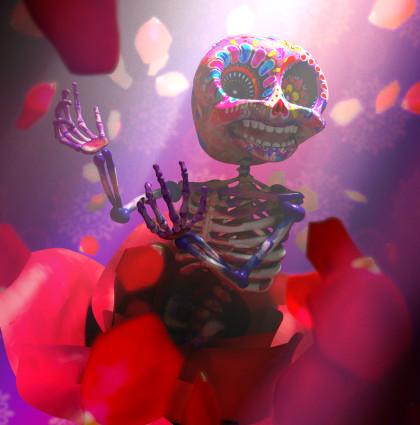 La Dia De Los Muertos