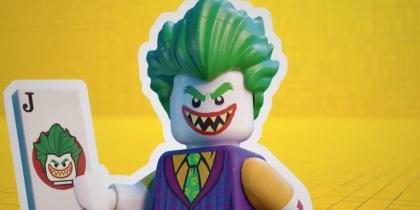 Lego Batman activity book promo