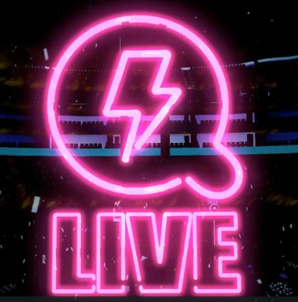 Q LIVE quiz app intro